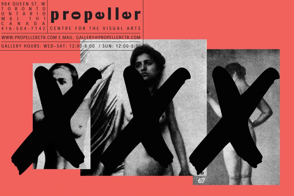 XXX show card
