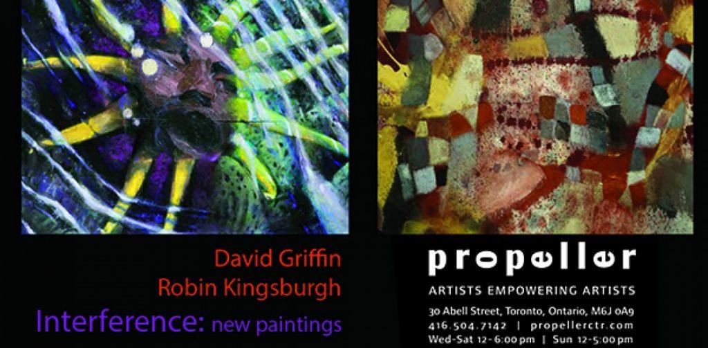 2015 Interference Robin Kingsburgh & David Griffin