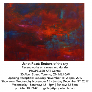 Embers of the Sky   Janet Read