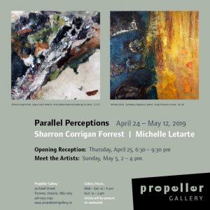 Parallel Perceptions | Sharron Corrigan Forrest | Michelle Letarte