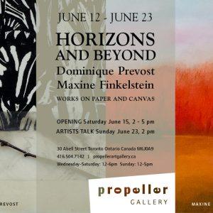 Horizons and Beyond | Dominique Prevost & Maxine Finkelstein