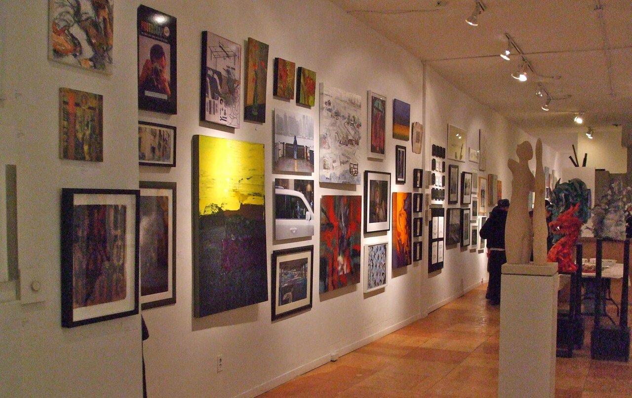 Salon 9, April 8 - 19, 2015 - 984 Queen Street   Photo Courtesy of Frances Patella