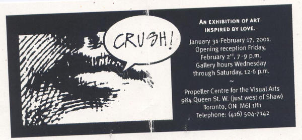 Crush | Valentine's Exhibition