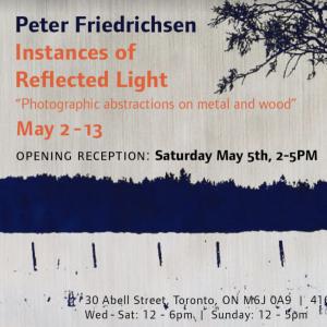 Instances of Reflected Light   Peter Friedrichsen