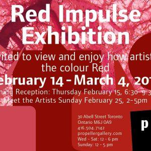 Red Impulse Exhibition 2018