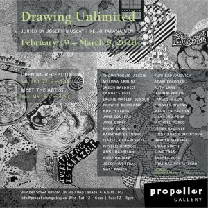 Drawing Unlimited Juried Exhibition