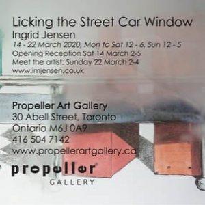 Licking the Streetcar Window | Ingrid Jensen