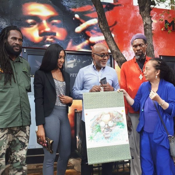 Propeller artist, Tai Kim's work featured at Peter Tosh Museum