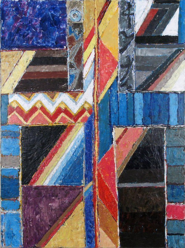 Jacob's Ladder, 2009,  40 x 30 inches