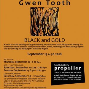 Black and Gold | Gwen Tooth