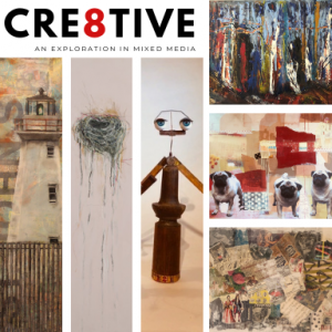 CRE8TIVE - An Exploration in Mixed Media