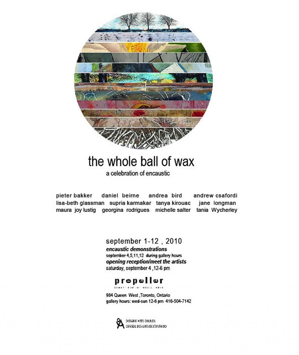 The Whole Ball of Wax - 2010