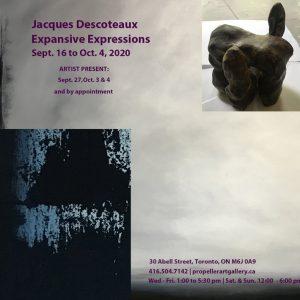 Expansive Expressions | Jacques Descoteaux