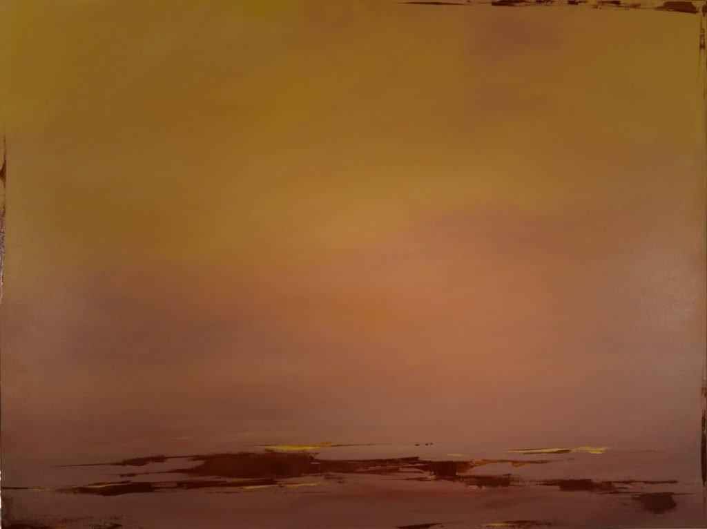 Entre Chien et Loup, Oil on Canvas, 36 x 48 inches