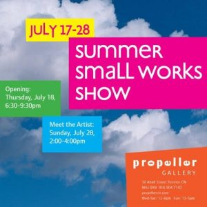 Summer Small Works Show
