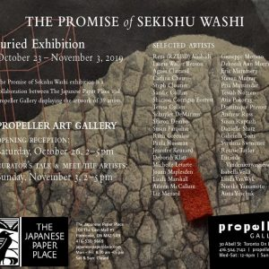 The Promise of Sekishu Washi