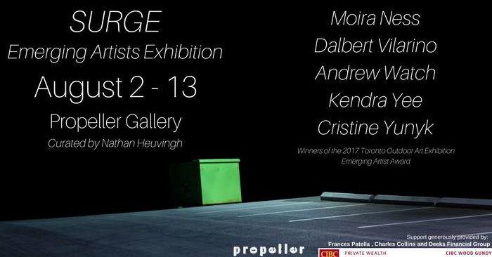 Surge: Emerging Artists Exhibition