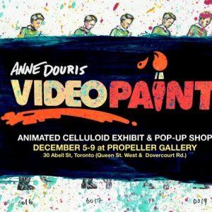 VIDEOPAINT   Anne Douris