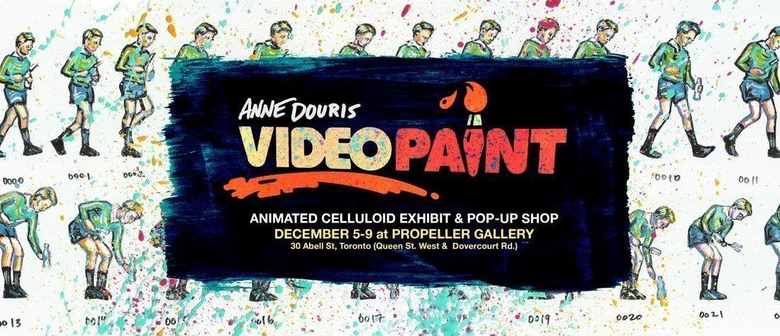 VIDEOPAINT | Anne Douris