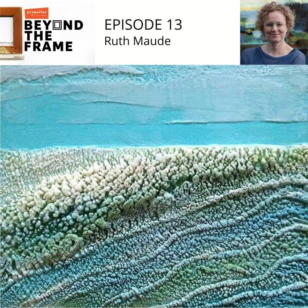 Beyond the Frame Podcast Episode 13 Ruth Maude