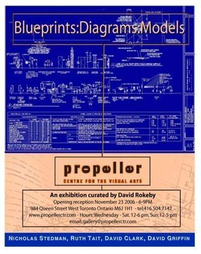 Blueprints: Diagrams: Models | Curated by David Rokeb