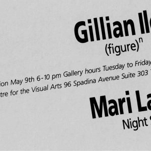 Gillian Iles & Mari Laughlen