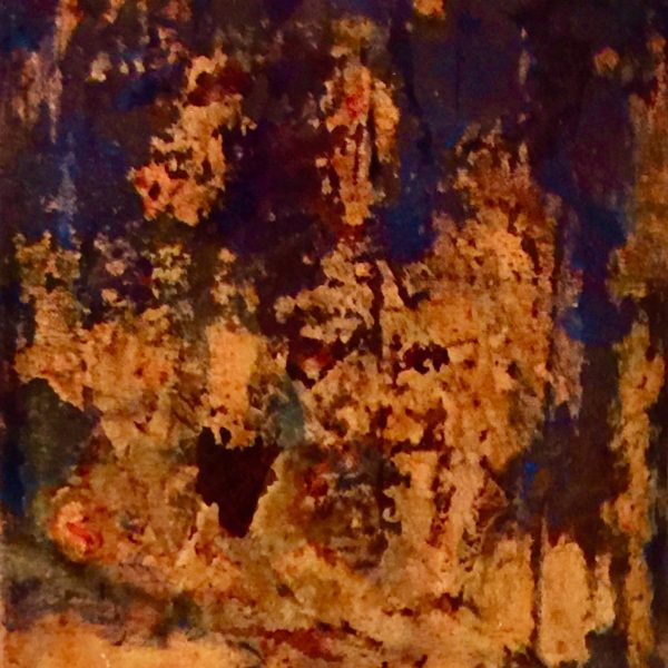 Namibia Rock Impressions, 2020, Photo Transfers & Acrylic on Canvas, 10 x 8 inches