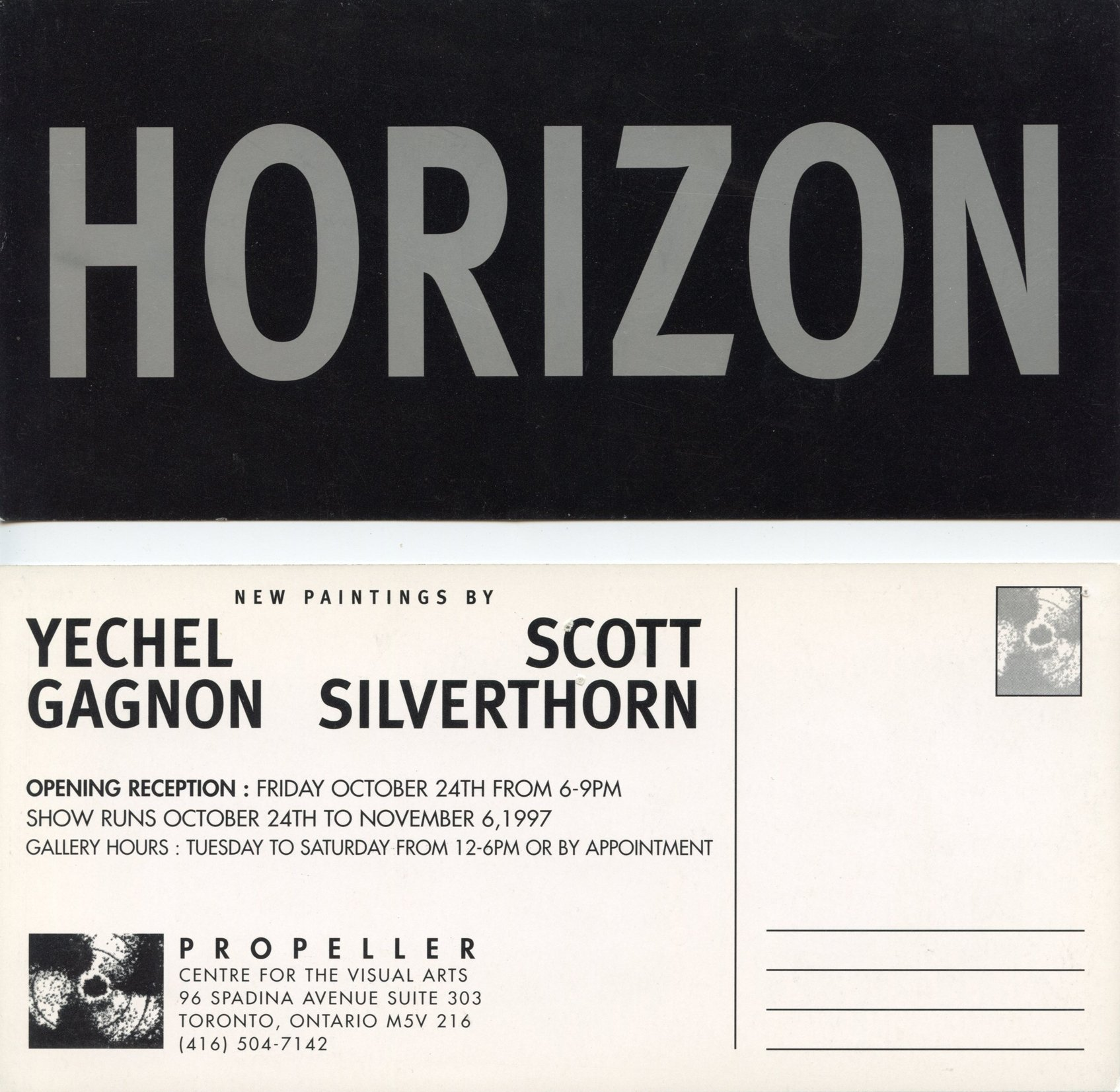 Horizon | Yechel Gagnon & Scott Silverthorn