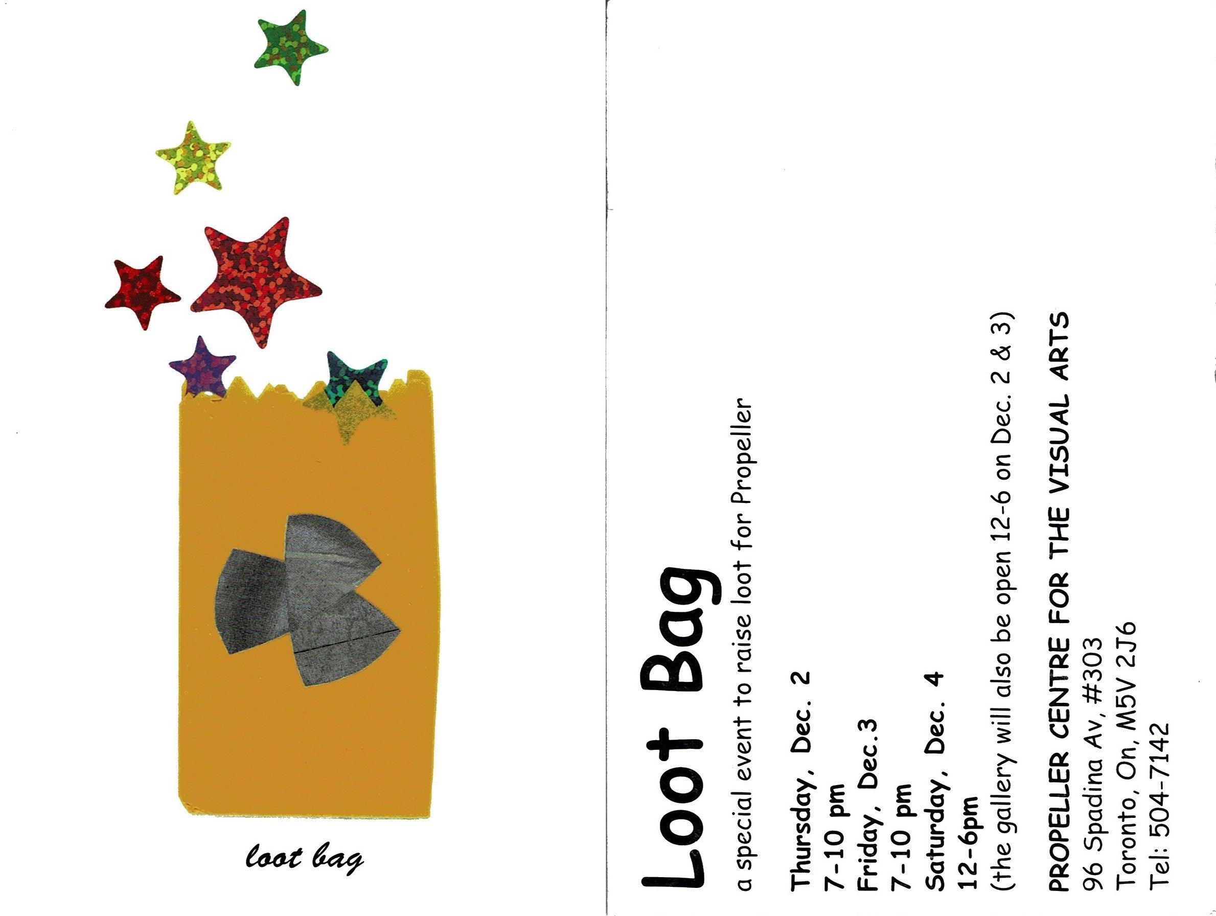 Loot Bag Fundraiser