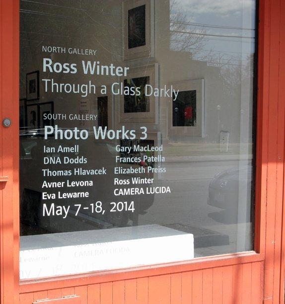 Ross Winter photo show