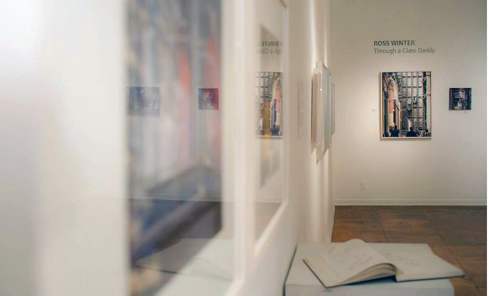 install view of Through a Glass Darkly