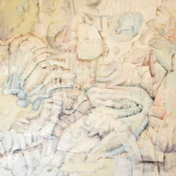 Elusivity, Oil on canvas, 4 x 5 feet