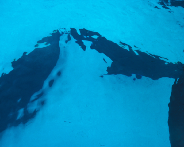 Blue Black Pool, Photography, 24 x 36 inches