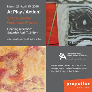 At Play! / Action   Dominique Prevost & Sharon Dembo