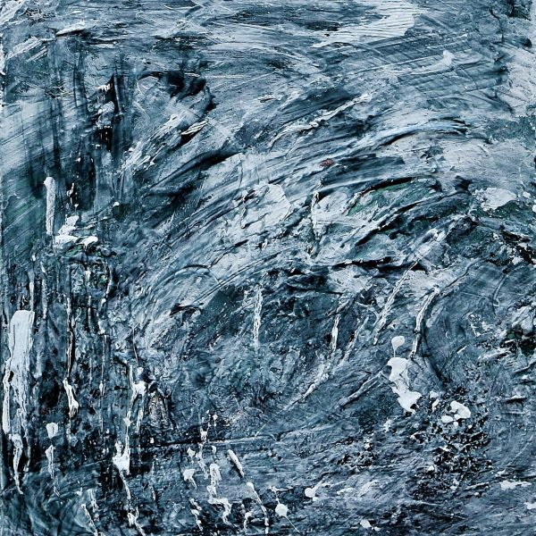 Niagara Falls in Winter #1, 2019/2020, Acrylic on Canvas, 16 x 12 x 1.5 inches