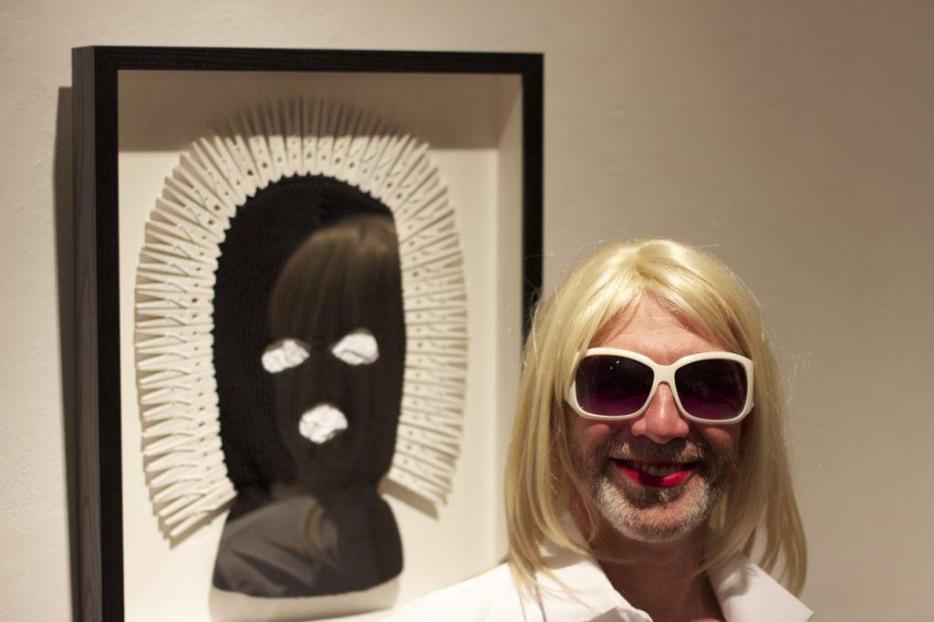 Artist Philip Hare - 2014 Black & White Ball