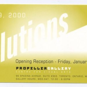 New Years Resolutions | New Member's Exhibition