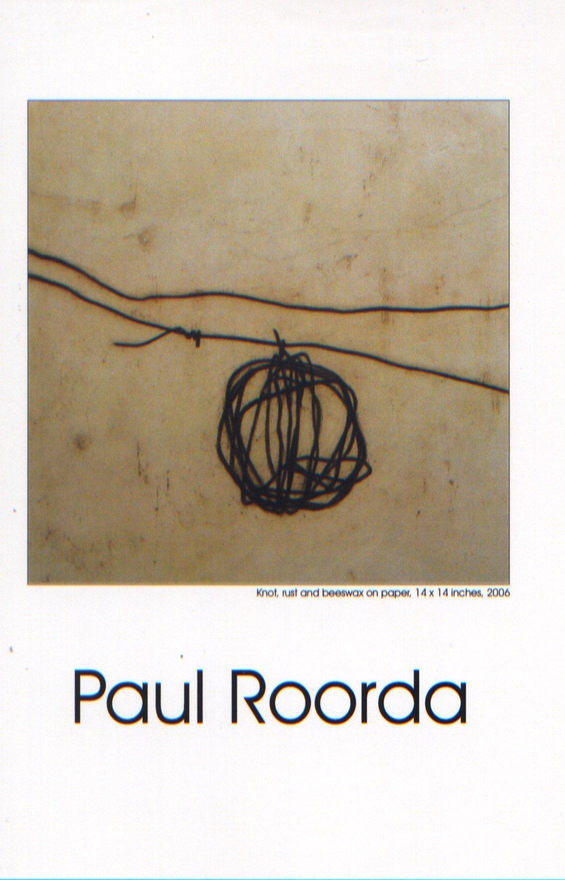 Encaustic Drawings:  Earth, Ash, and Rust    Paul Roorda