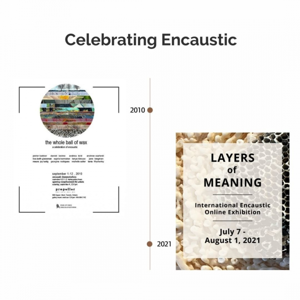 Encaustic Exhibitions at Propeller | Celebrating Encaustic