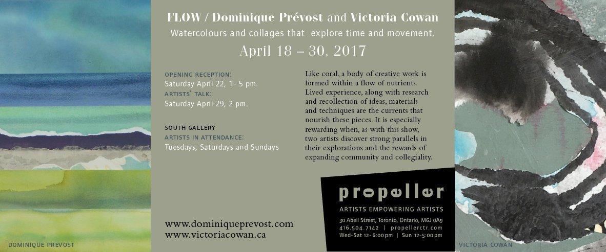 Flow | Dominique Prévost and Victoria Cowan