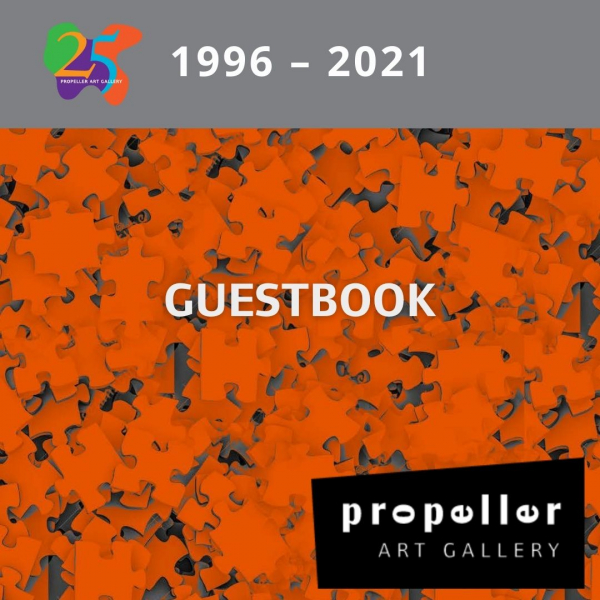 25th Anniversary Guestbook
