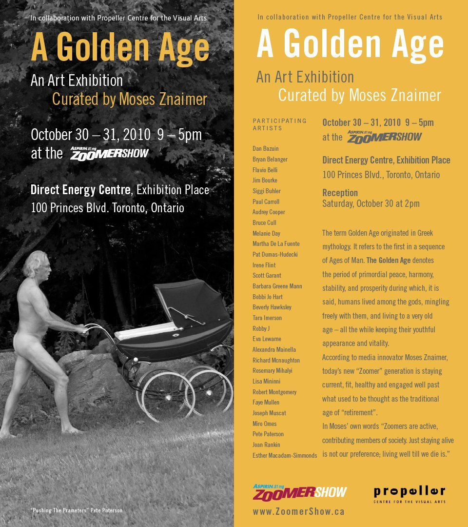 Zoomer Show: A Golden Age | Curated By Moses Znaimer