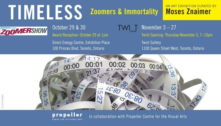 TIMELESS |  Zoomers & Immortality: Curated by Moses Znaimer